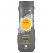 Attitude Super Leaves šampūns / dušas želeja vīriešiem Sport, 473ml