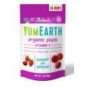 YumEarth BIO ledenes uz kātiņa ar C vitamīnu 3 veidi, 85g/14gab.