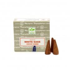 Satya smaržkociņi / konusi White Sage, 12gb.