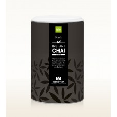 Cosmoveda BIO Indijas piena tējas maisījums ar garšvielām Chai Latte Black, 200g