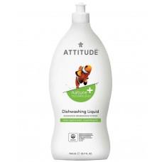 Attitude trauku mazgāšanas līdzeklis ar ābolu un bazilika smaržu, 700ml