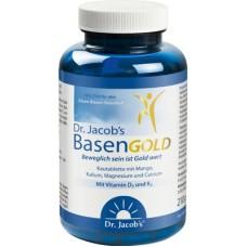 Dr. Jacob's Basengold mikrouzturvielas kauliem, muskuļiem un locītavām, uztura bagātinātājs, 126 tabl.