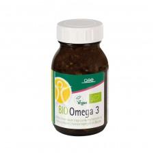 GSE Vertrieb BIO Omega 3 uztura bagātinātājs ar perillas eļļu, 90 kaps.
