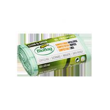 BioBag biokompostējami atkritumu maisi, 20l, 15gb.