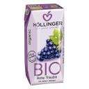 Hollinger BIO negāzēts sarkano vīnogu sulas dzēriens, 0,2l