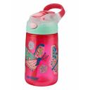 Contigo Gizmo Flip ūdens pudele ar salmiņu bērniem White Butterfly, 420ml