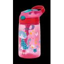Contigo Gizmo Flip ūdens pudele ar salmiņu bērniem Cherry with Cat, 420ml