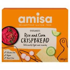 Amisa BIO kukurūzas un rīsu sausmaizītes, 150g