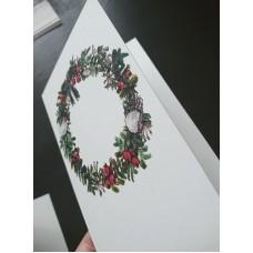 Mydesignpictures Ziemassvētkiem atverama kartīte 10*15 cm