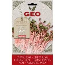 Bavicchi GEO BIO redīsu sēklas diedzēšanai (Raphanus Sativus) China Rose, 20g