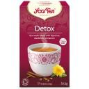 """Yogi Tea BIO tēja organisma attīrīšanai """"Detox"""", 17pac./30,6g"""
