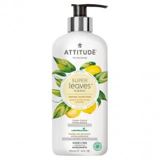 Attitude Super Leaves šķidrās ziepes ar citronu, 473ml