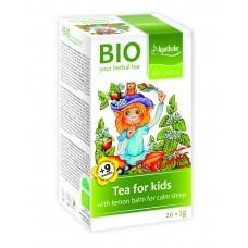 Apotheke BIO nomierinoša vakara tēja bērniem ar citronmelisu no 6 mēn, 20gab x 1,5g