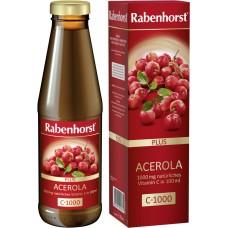 "Rabenhorst acerolas biezsula ar acerolas pulveri ""Acerola Plus C-1000"", 450ml"