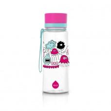 Equa BPA FREE ūdens pudele Pink Monsters, 600ml