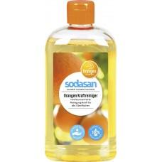 Sodasan universāls tīrīšanas līdzeklis ar apelsīnu eļļu, 500ml