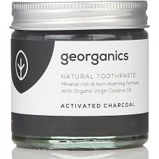 """Georganics zobu pasta """"Aktivētā ogle"""", 60ml"""