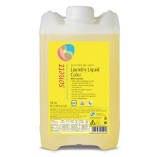 Sonett šķidrais veļas mazgāšanas līdzeklis krāsainai veļai, 5l