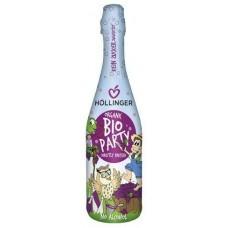 Hollinger BIO Party bezalkoholisks dzirkstošs sarkano vīnogu dzēriens bērniem, 0,75l