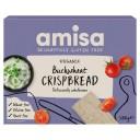 Amisa BIO bezglutēna kraukšķīgās pilngraudu griķu sausmaizītes, 120g