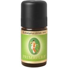 Primavera organiska citroneikalipta ēteriskā eļļa, 5ml