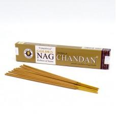 Vijayshree Golden Nag smaržkociņi Chandan, 15g