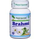 Planet Ayurveda uztura bagātinātājs Brahmi (brahmi), 60kaps.