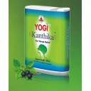 Yogi Kanthika Plus dražejas kakla veselībai (bez pievienota cukura), 140gab.