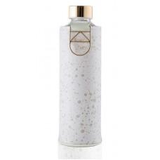 Equa Mismatch stikla ūdens pudele ar mākslīgās ādas apvalku Essence, 750ml