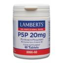 Lamberts uztura bagātinātājs P5P (B6 vitamīns) 20mg, 60 tabl.