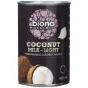 Biona BIO kokosriekstu piens ar samazinātu tauku saturu, 400ml