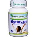Planet Ayurveda uztura bagātinātājs Shatavari (šatavari, sparģelis), 60kaps.
