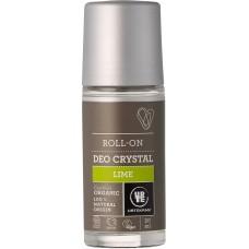 Urtekram kristāla dezodorants ar laimu, 50ml