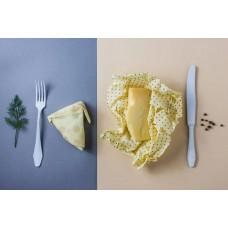 Bee In dabīga drāniņa ēdiena uzglabāšanai vidējā (28*28cm)