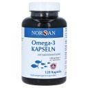 Norsan Omega-3 dabiska zivju eļļa kapsulās, 120gb.