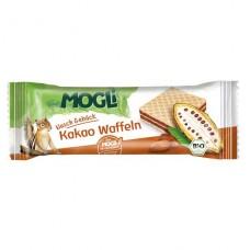 Mogli BIO vafeles ar kakao krēma pildījumu, 15g