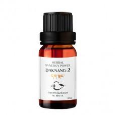 Daknang - 2 Synergy Power uztura bagātinātājs stresa samazināšanai un prāta nomierināšanai, 10ml