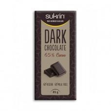 Sukrin tumšā šokolāde bez cukura 65% kakao, 85g