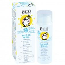 Eco Cosmetics Baby & Kids Neutral saules aizsargkrēms zīdaiņiem un bērniem SPF50+, 50ml