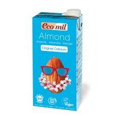 Ecomil BIO mandeļu dzēriens ar kalciju, 1l