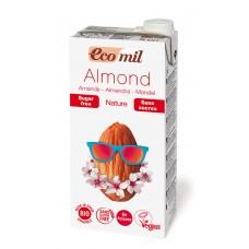 Ecomil BIO bezglutēna mandeļu dzēriens bez cukura, 1l