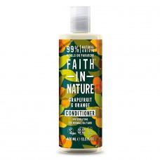 Faith in Nature greipfrūtu / apelsīnu kondicionieris, 400ml