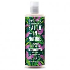 Faith in Nature lavandas / ģerānijas kondicionieris sausiem un normāliem matiem, 400ml