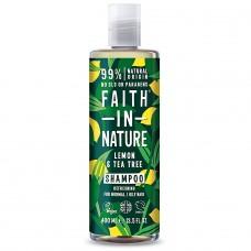 Faith in Nature pretblaugznu citronu / tējas koka kondicionieris, 400ml