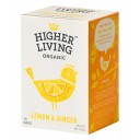 Higher Living BIO tēja citrons un ingvers, 30g/15pac.