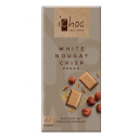 Vivani iChoc BIO vegānā baltā šokolāde ar lazdu riekstu kraukšķiem, 80g