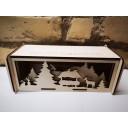 Kokradis koka svētku kaste