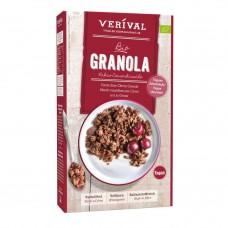 Verival BIO granola ar kakao  un skābajiem ķiršiem, 325g