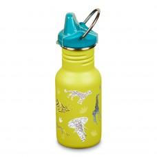 Klean Kanteen Kid Classic Sippy tērauda ūdens pudele bērniem Safari 355ml