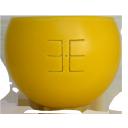 Emīlijas Bišu Vasks bišu vaska lukturis kartona kastītē Ūsiņš, 14cm